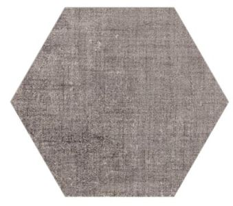 Hexagon Tile   The Tile Shop Esa Taupe Hex Porcelain Wall and Floor Tile   9 in