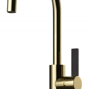 Tapwell Köksblandare Arman ARM180/Svart Honey Gold - Honey Gold