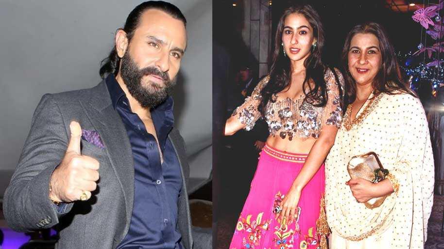 Saif Ali Khan credits ex-wife Amrita Singh for Sara Ali ...