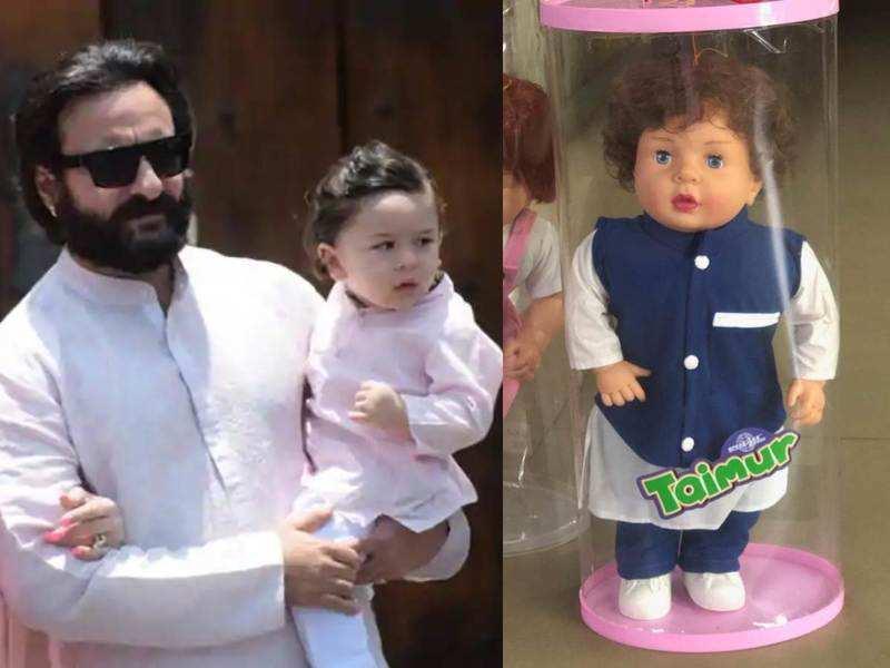 Daddy Saif Ali Khan reacts on his son Taimur Ali Khan ...