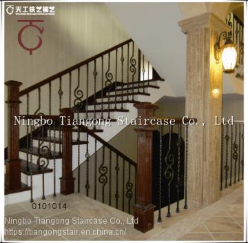 Durable Wrought Iron Stair Balustrade Of Iron Balustrade From | Wrought Iron Balustrades And Handrails | Modern Iron Balustrade