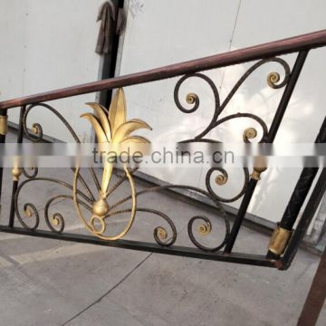 Wholesale Outdoor Wrought Iron Stair Railing Stairway Handrail | Exterior Iron Stair Railing | Temporary | Front Step | Aluminum | Front Entrance | Fancy