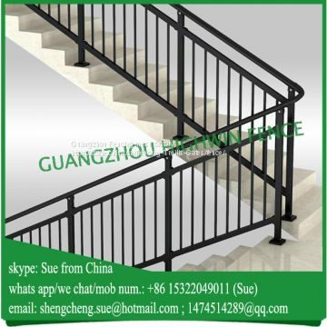 1 2M High Galvanised Black Color Stairs Handrail Of Handrail From   Black Pipe Stair Railing   Diy   90 Degree Stair   Banister   Outdoor Stair   Stainless Steel