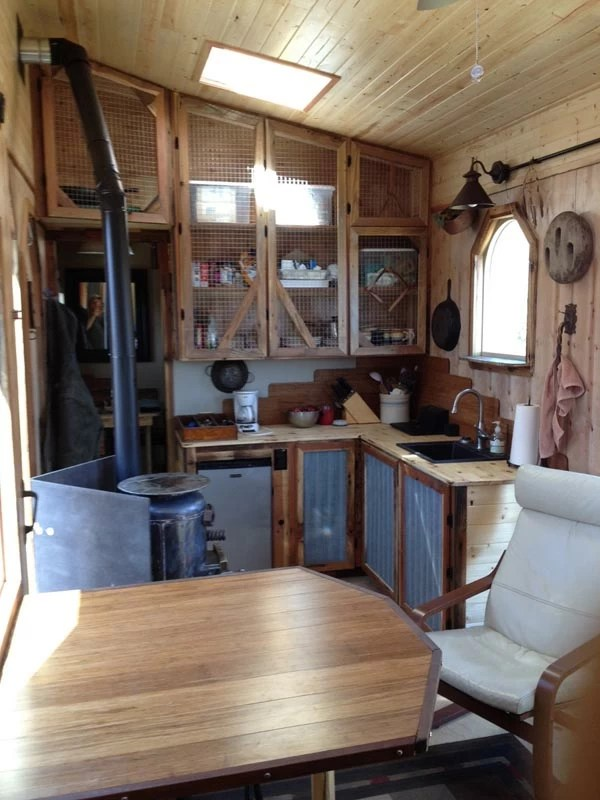 A One Of A Kind Tiny House Packed With Rustic Chic Design