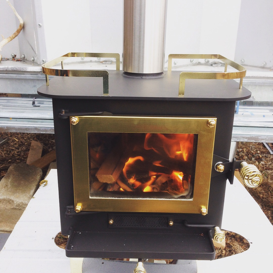 Cubic Mini Wood Stove Tiny House Of Steel