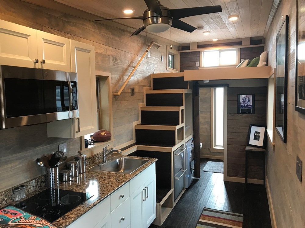 28 Foot Tailgater Tiny House
