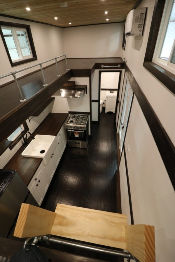 Family Of Three S Off Grid Tiny House With 12ft Loft To