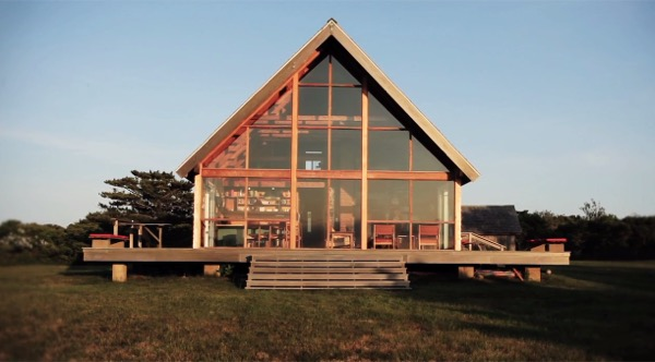 Jens Risom S Oceanside Prefab Cottage