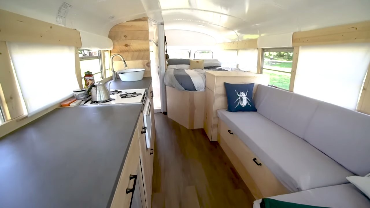 Newlyweds Build Skoolie For Less Than 10k