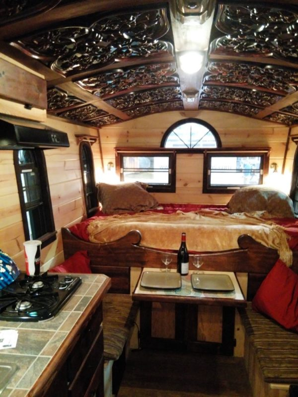 The Tudor Micro Cottage On Wheels By Woolywagons