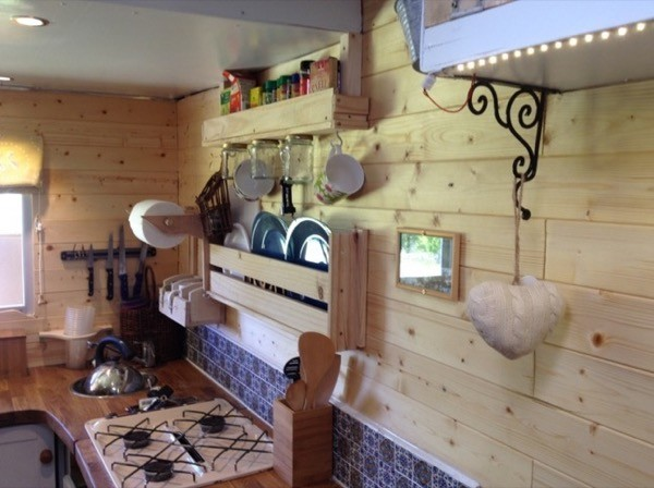 Couple Live Simply In A Converted Box Truck