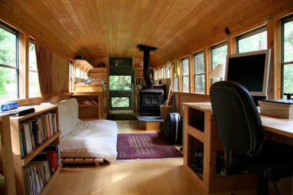 Tiny House Wheels Interior
