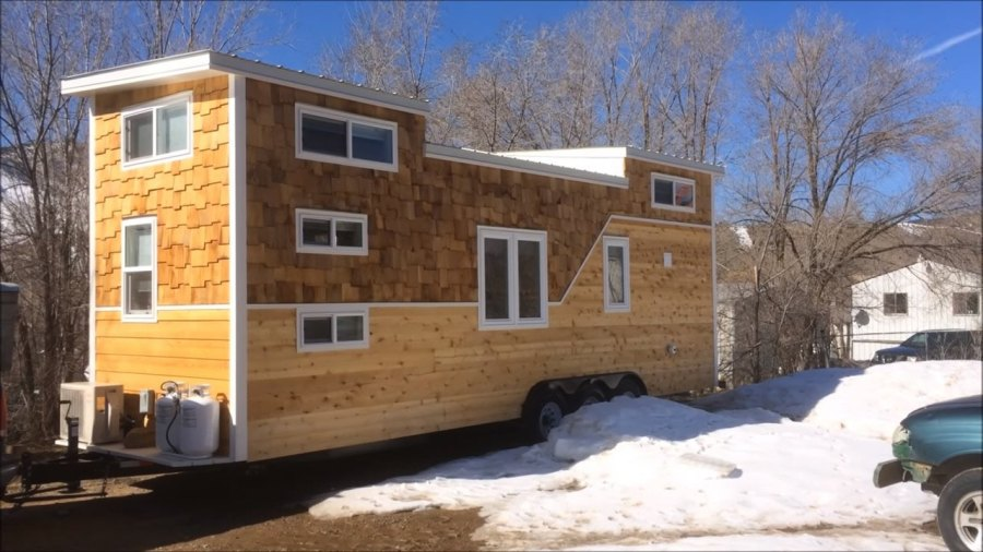 Free Tiny House Floor Plans Tiny House Plan For Family Of 4   Tiny     28 39 tiny house on wheels built for a family of four Tiny home for family