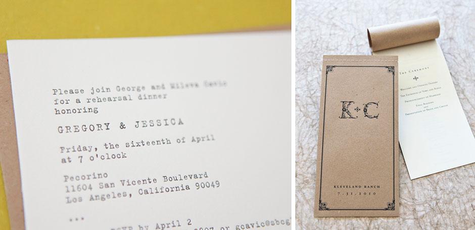 Custom Invitations Los Angeles