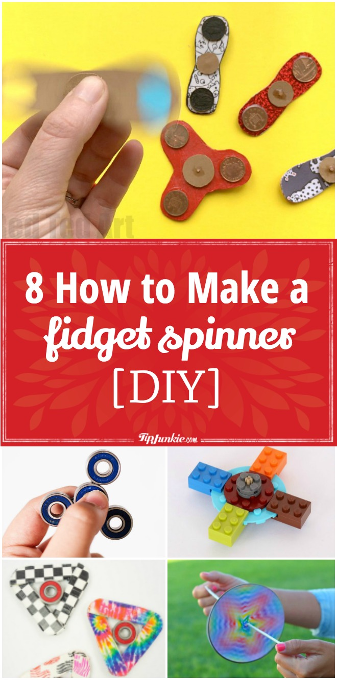 Fidget Spinner Template Paper Cut Out