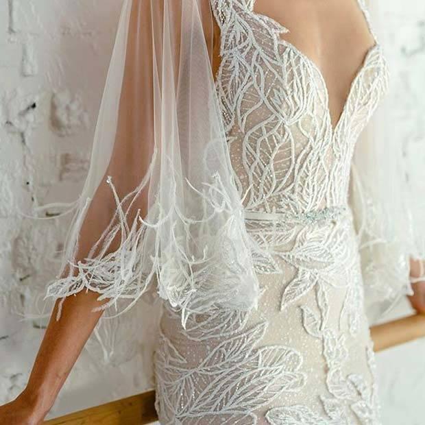 Abroncs nélküli menyasszonyi ruha - 10 mesés fazon a nagy napra c80c3b6e71