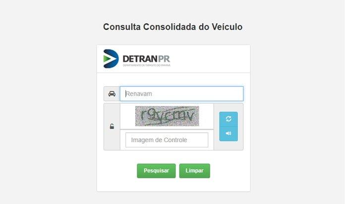 como consultar multas Detran PR