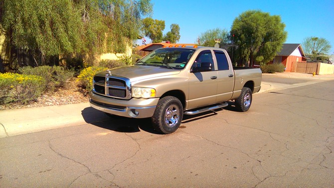 Dodge Lifted 1500 Ram 2012