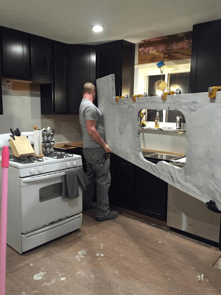 Silver Cloud Granite Kitchen Titan Granite St Louis Mo