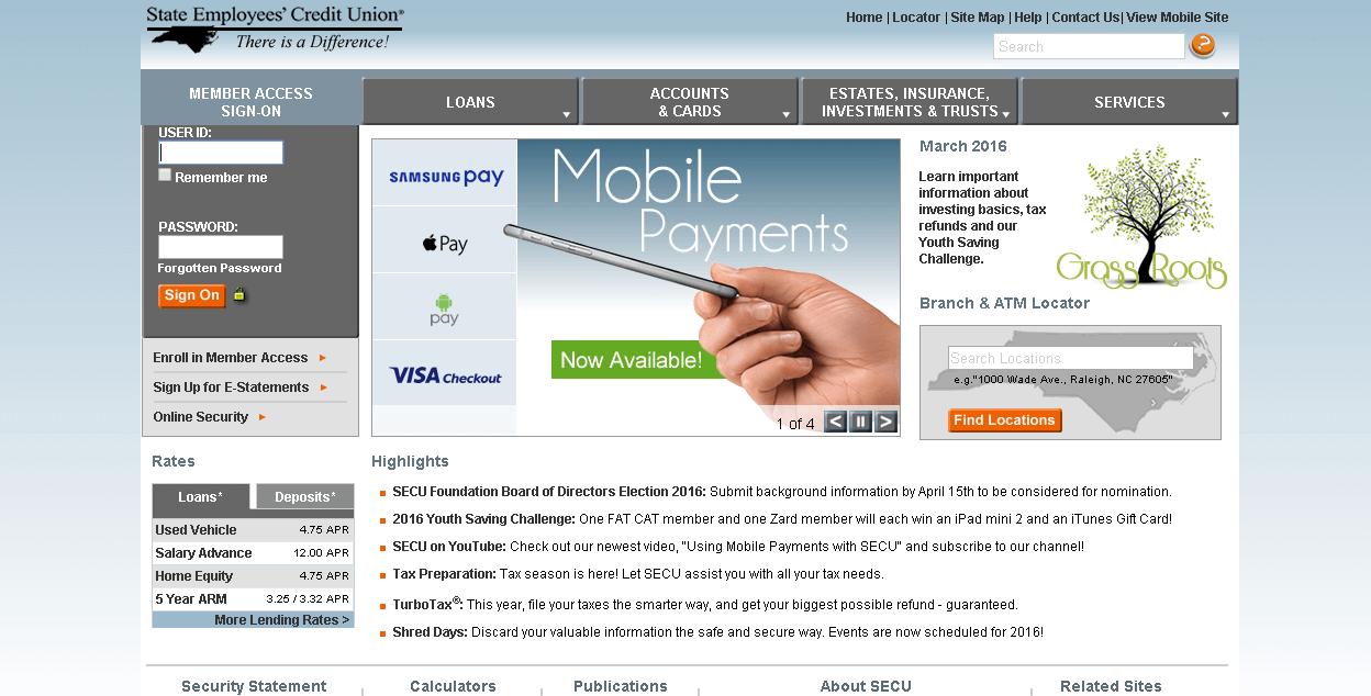 Ncsecu Full Site
