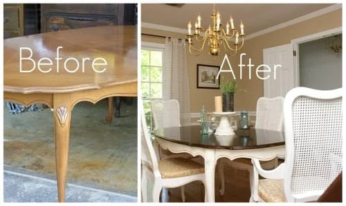 Painted Dining Room Furniture Ideas