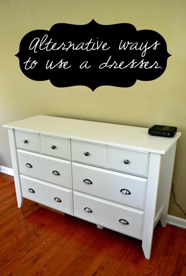 Alternative Clothes Dresser Ideas