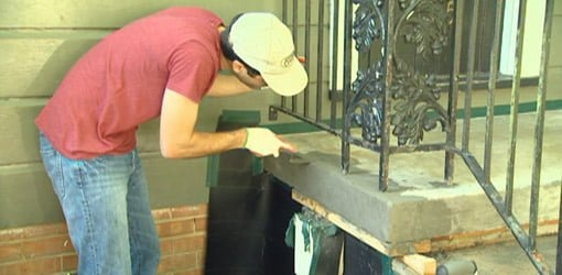 How To Repair And Resurface Concrete Steps Today S Homeowner | Repairing Outdoor Wooden Steps | Stair Stringer | Concrete Slab | Deck Stairs | Concrete Porch | Deck