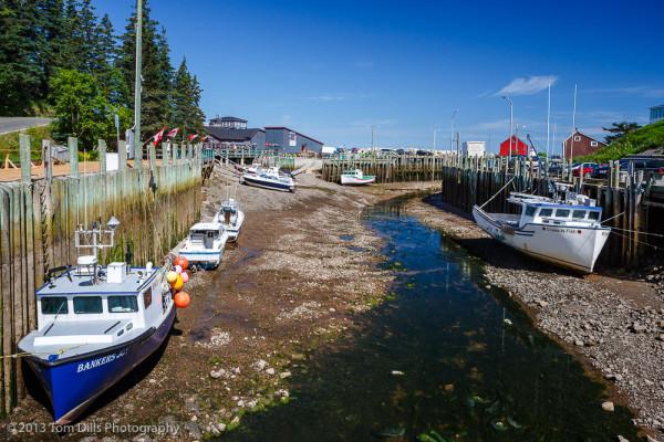 Tide Fundy Bay Bore