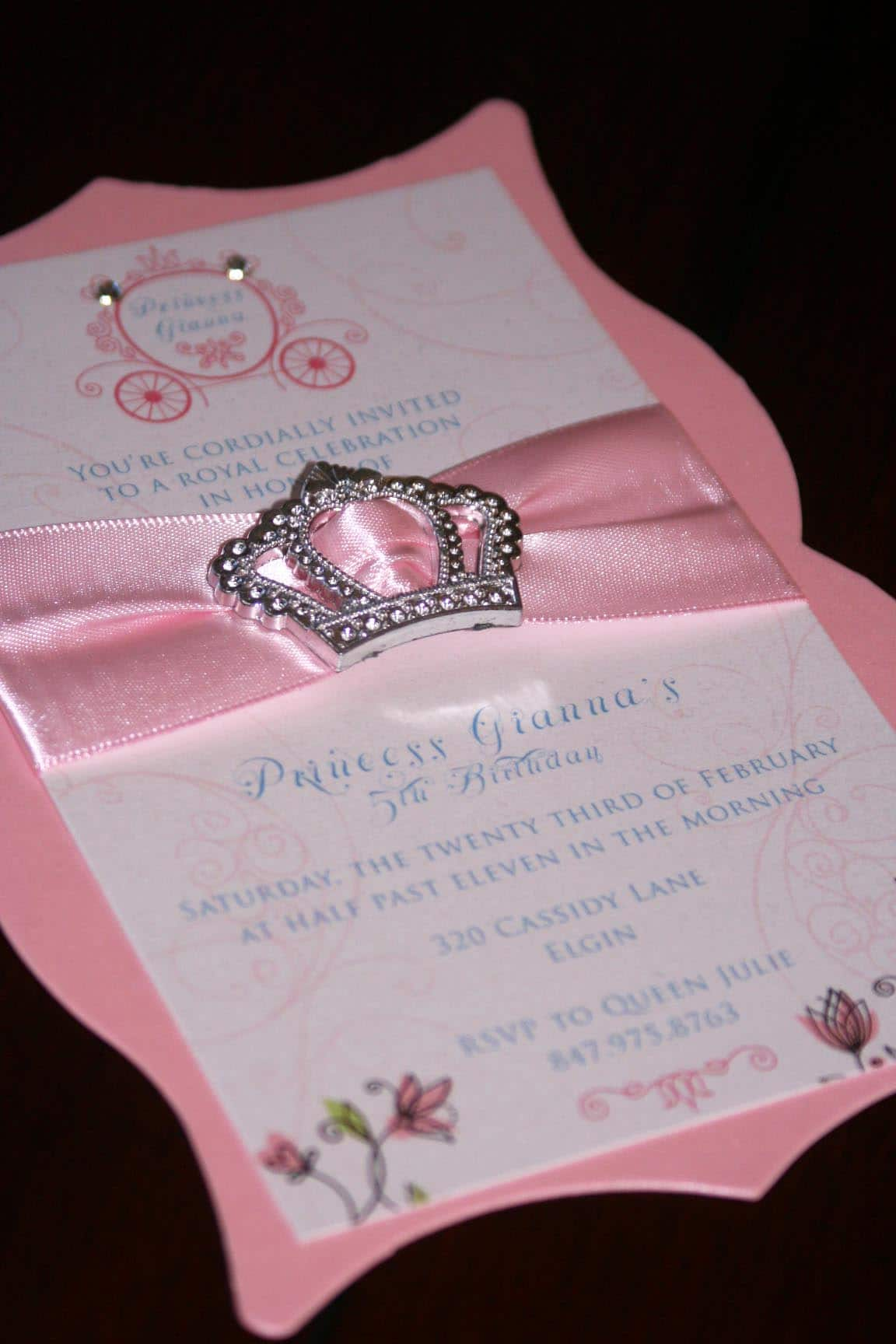 Custom Baby Invitations