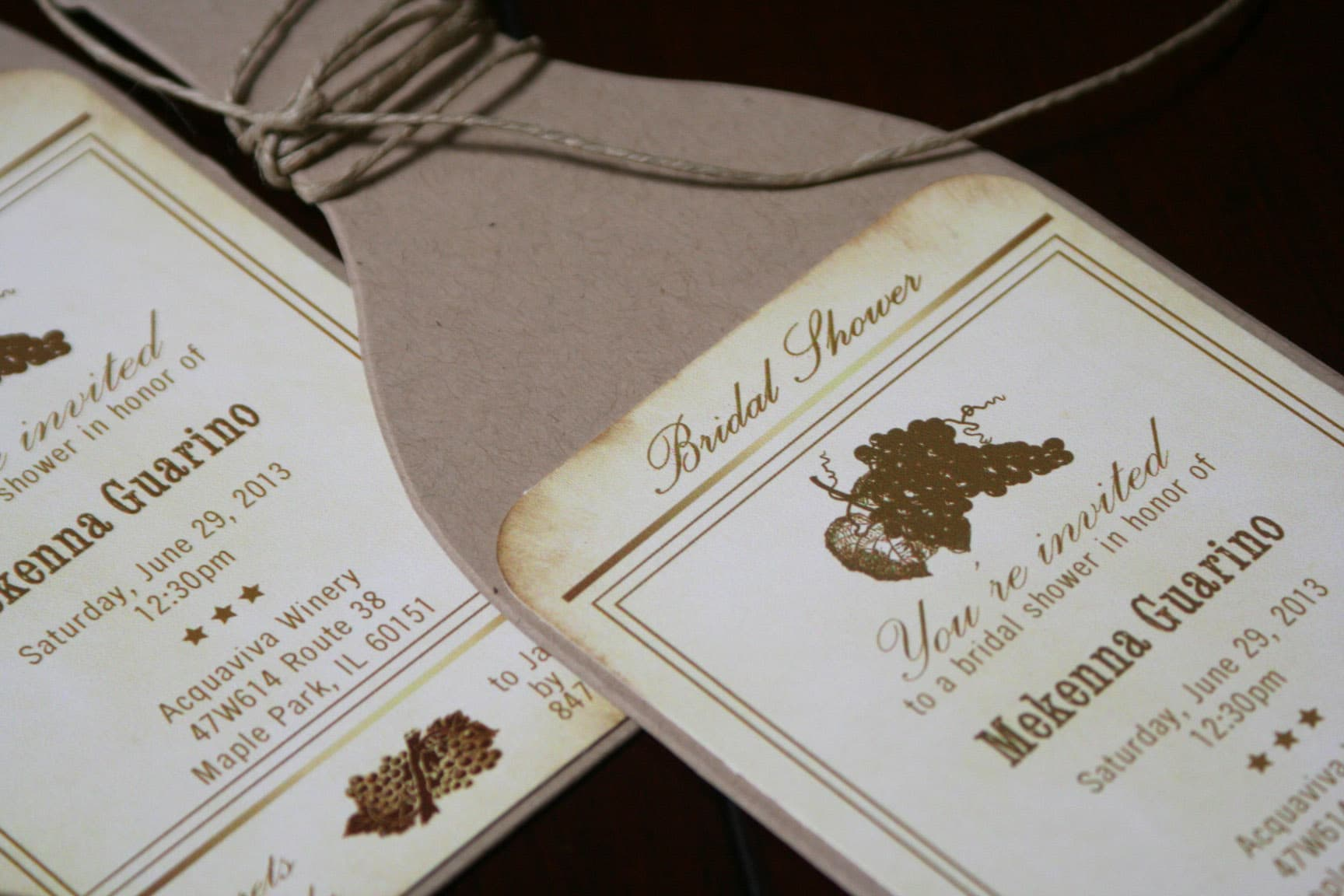 Bride Be Bridal Shower Invitations