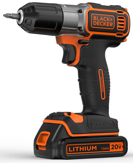 New Black & Decker Brand Identity and Cordless Drill with ...