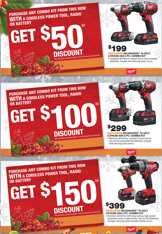 Milwaukee Tools Black Friday Home Depot Writings And Essays
