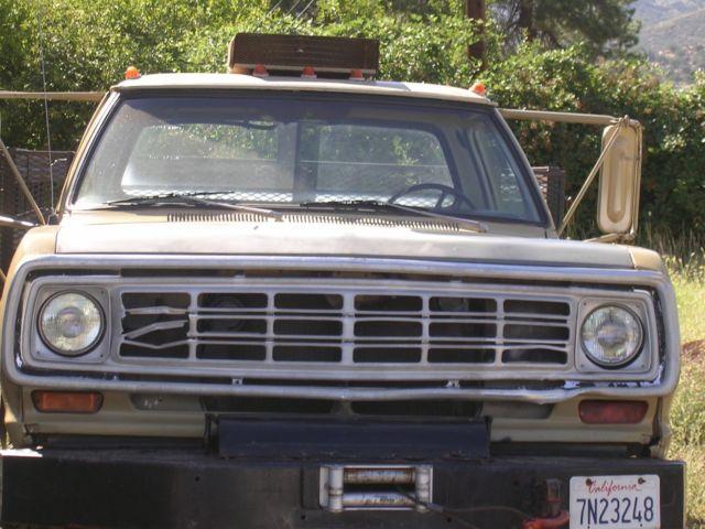 Power 4x4 1979 Ton 1 2 Wagon Dodge