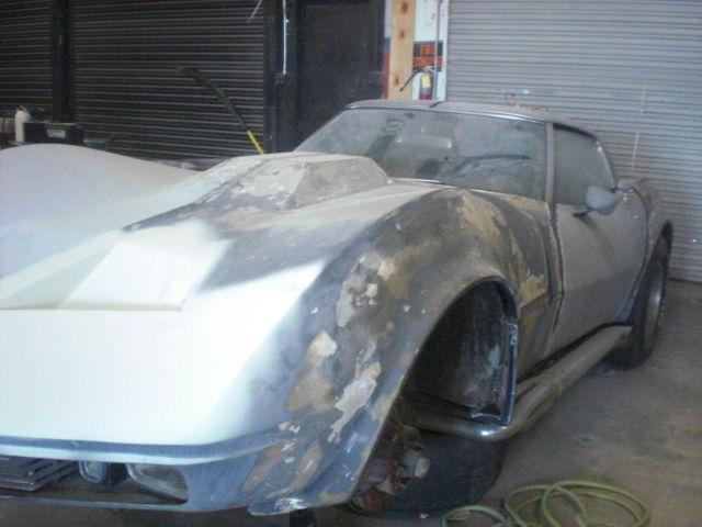 1968 Shark Mako Corvette