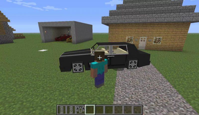 Личный автомобиль Майнкрафт