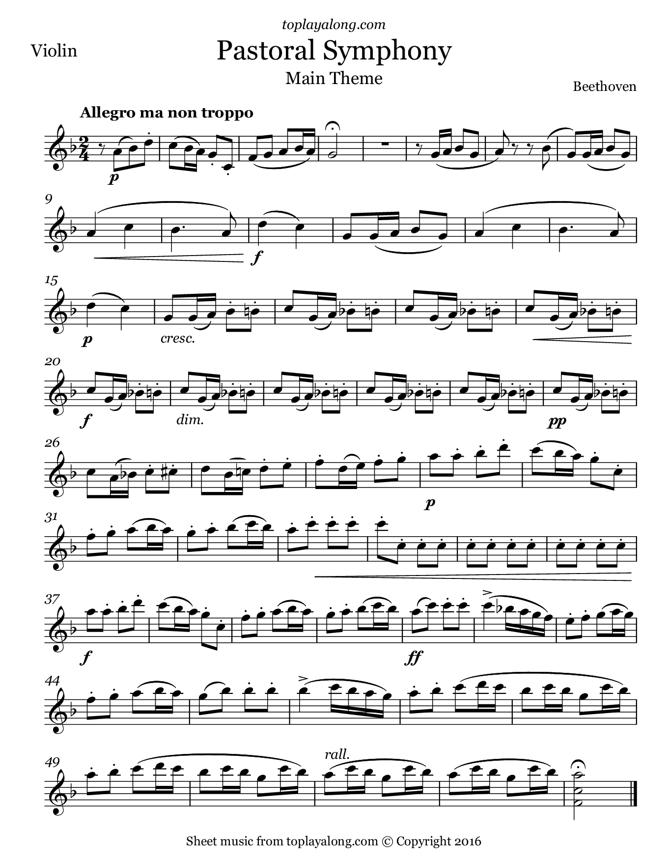 Notes Music Recorder Bethtoven