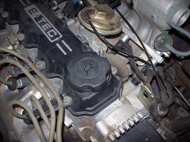 крышка горловины для заливки масла в двигатель