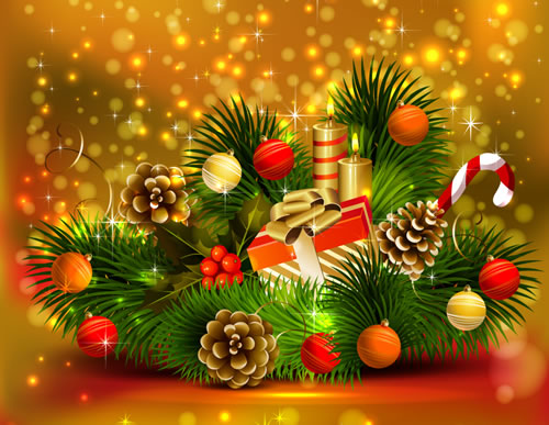 2017 Greetings Merry Year Happy New Christmas And