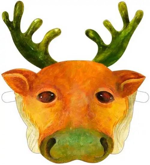 маска олень