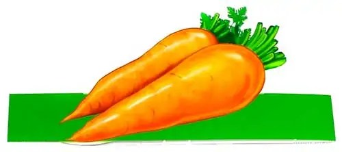 маска морковка