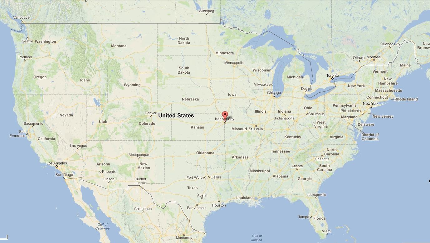 What States Border Kansas