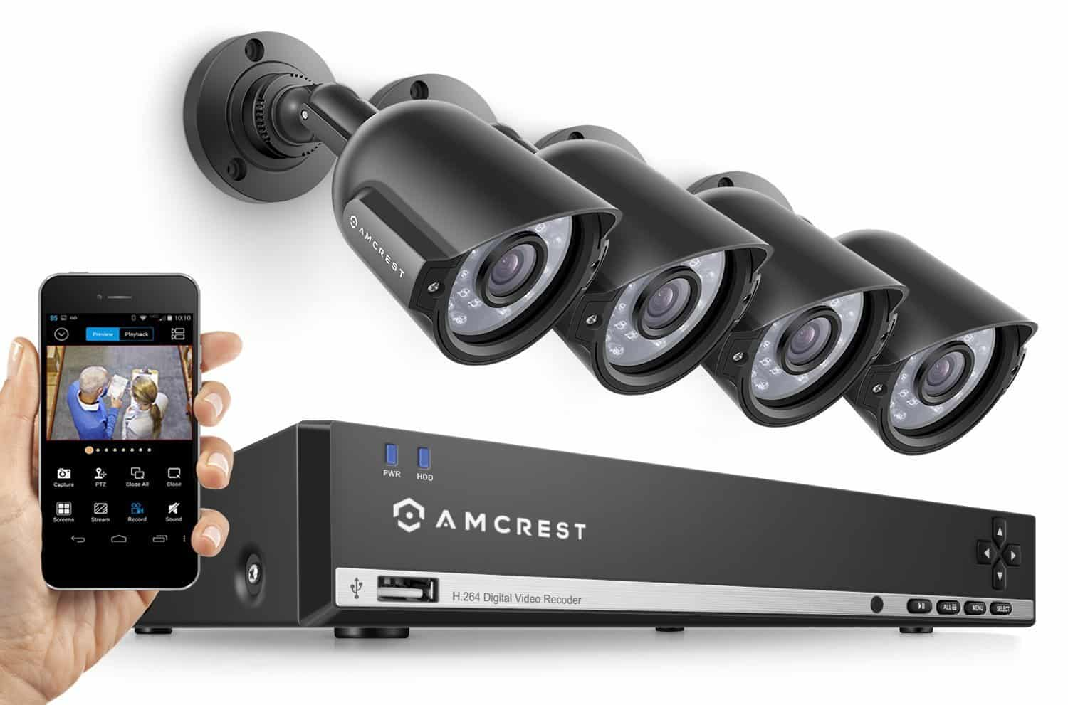 Wireless Camera System 5 Security Top