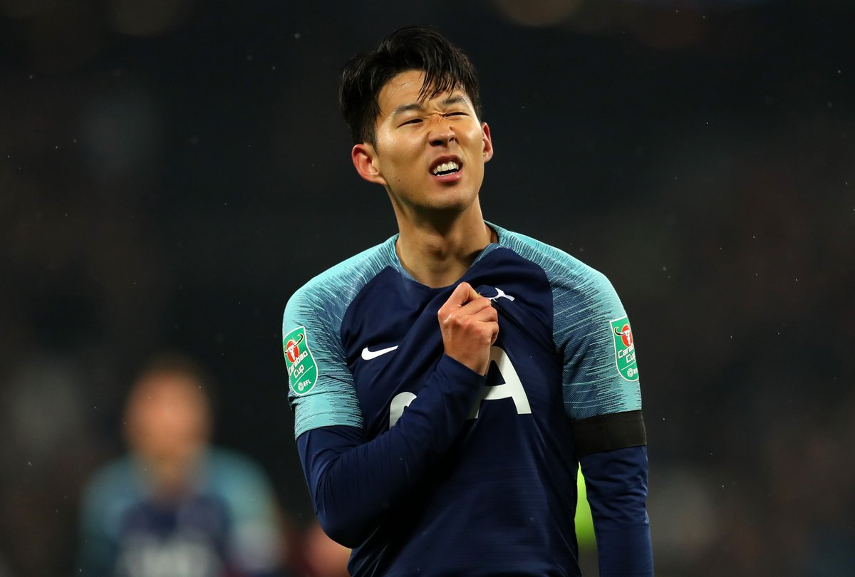 Son Heung Min Starts Predicted Tottenham Xi To Face
