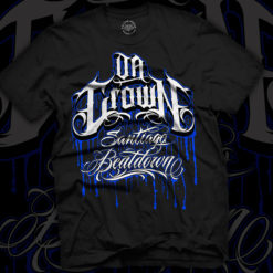 Da Crown merch - santiago beatdown shirt