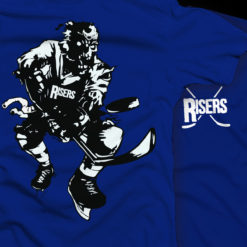 Risers Hockey Zombie Shirt