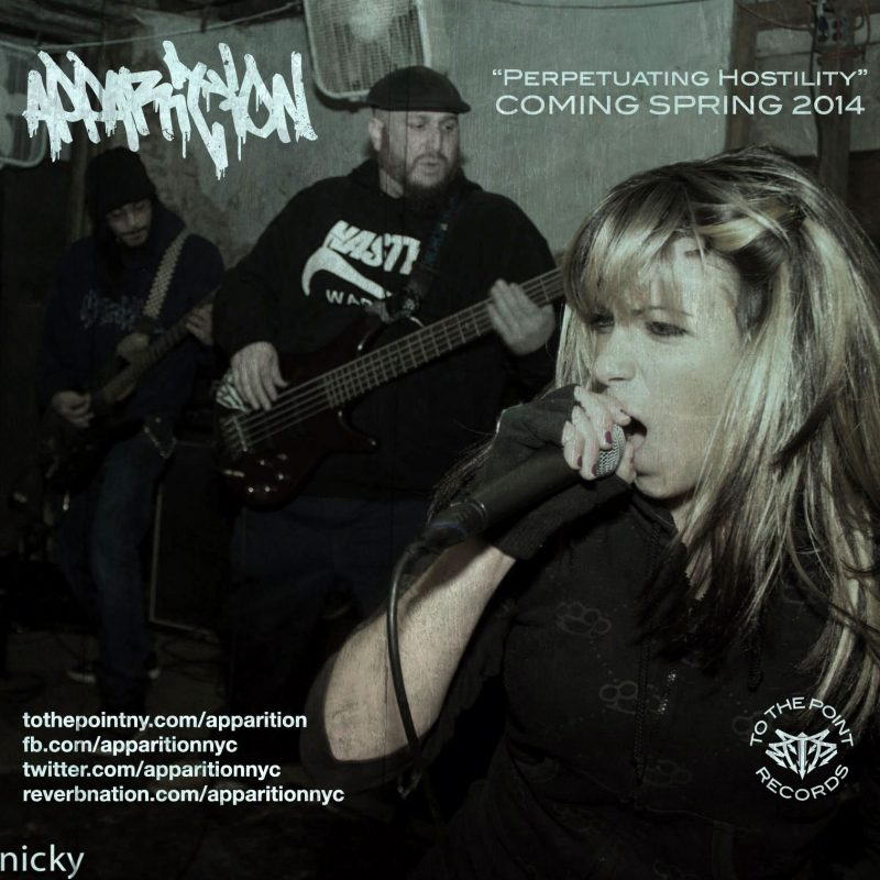 new apparition album title perpetuating hostility 2014 - ttprecords