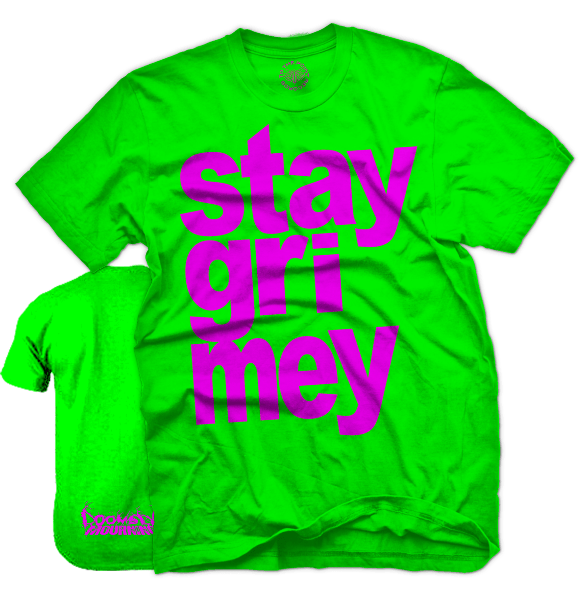 Doomsday Mourning - Stay Grimey Shirt - Watermelon