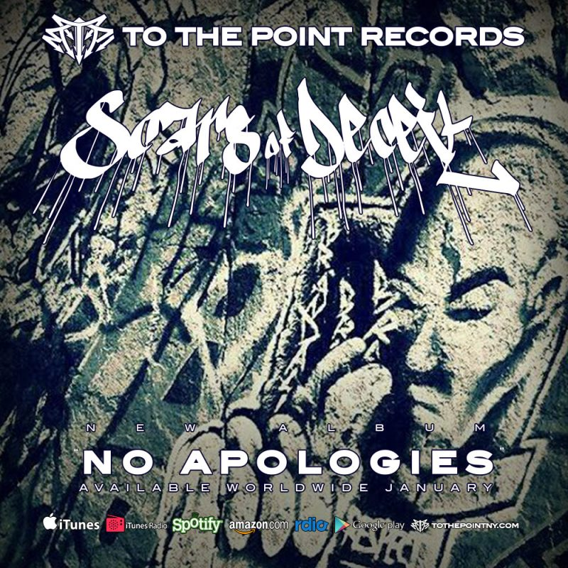 Scars of Deceit - No Apologies - Available January 6th 2015 on To The Point Records.