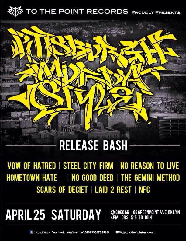 PGH Murda Style Record Release - Brooklyn - April 25th 2015 - Show