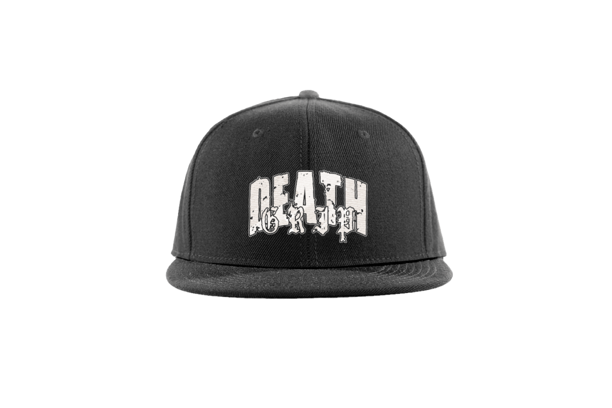 Death Grip - Snapback Hat - Front